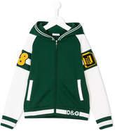 Dolce & Gabbana varsity style hoodie
