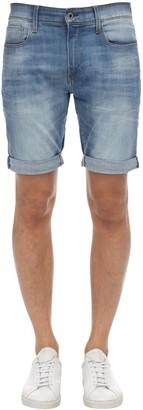 G Star 3301 Slim Cotton Denim Shorts