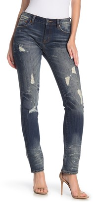 Rock Revival Mid-Rise Straight Jeans