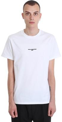 Stella McCartney T-shirt In White Cotton