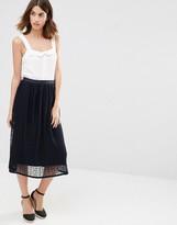 Warehouse Spot Mesh Skirt
