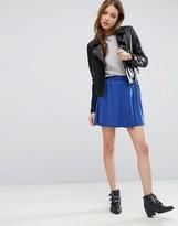 Asos Mini Skater Skirt with Elastic Waist Detail