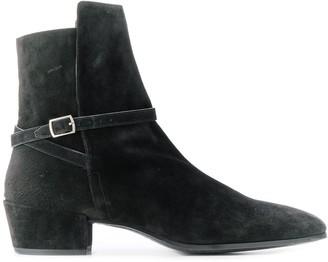 Saint Laurent Clementi suede boots