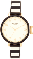 Kate Spade Park Row Silicone Watch