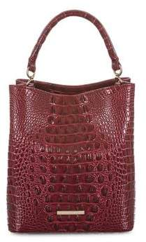 Brahmin Melbourne Amelia Leather Bucket Bag