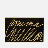 Lulu Guinness Women's Olivia 'One In A Million' Clutch Black/Gold