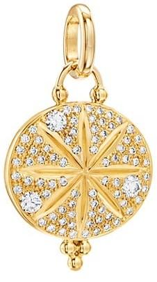 Temple St. Clair Celestial 18K Yellow Gold & Diamond Sorcerer Pendant