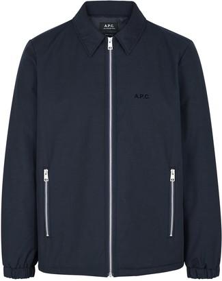 A.P.C. Leon navy gabardine jacket