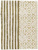 L&M Home Khalo Table Runner, Olive