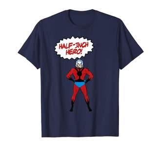 Marvel Ant-Man Classic Retro Half-Inch Hero Graphic T-Shirt