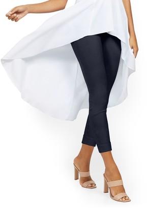 New York & Co. Whitney High-Waisted Pull-On Capri Pant - Denim