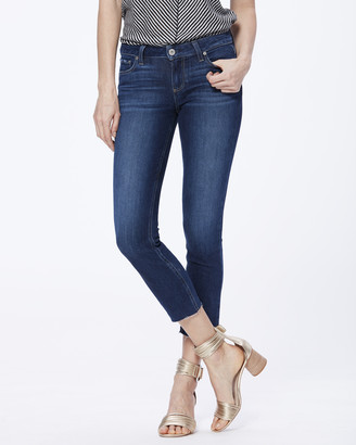 Paige SKYLINE SKINNY CROP RAW HEM-GREECE
