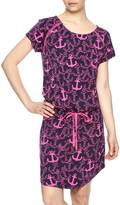 Hatley Drop-Waist Anchor Dress