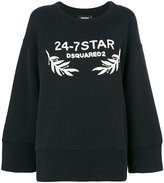 DSQUARED2 oversized 24-7 Star sweatshirt