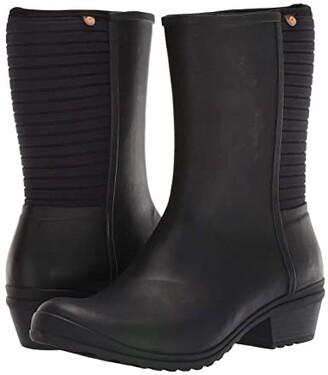 Bogs Vista Tall (Black) Women's Shoes