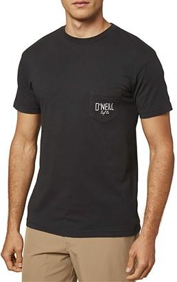 O'Neill Catch Pocket T-Shirt (Dark Charcoal) Men's Clothing