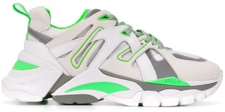 Ash Panelled Chunky Sneakers