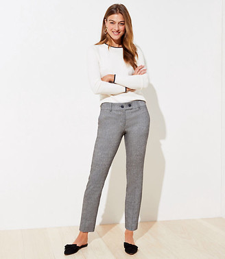 LOFT Speckled Slim Pencil Pants in Curvy Fit