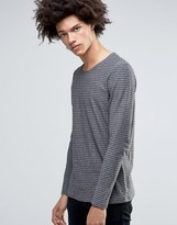 Minimum Neal Long Sleeve Top Stripe Marl