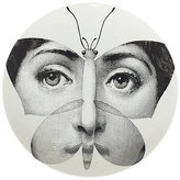 "Fornasetti Face In Butterfly"" Plate"