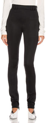 Proenza Schouler Skinny Legging in Black | FWRD