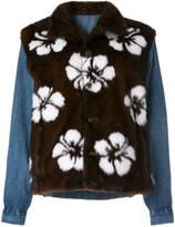 Simonetta Ravizza floral layered jacket