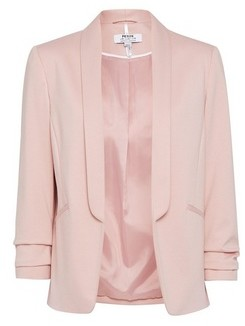 Dorothy Perkins Womens Dp Petite Blush Ponte Jacket