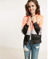 Express Color Blocked Windbreaker