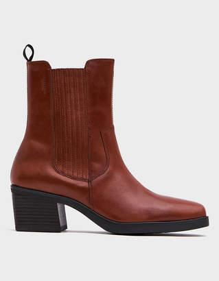 Vagabond Shoemakers Simone Pullon Boot in Cinnamon