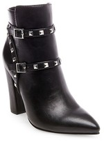 Women's Betseyville Pantera Studded Heeled Booties - Black