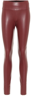 Wolford Edie faux leather leggings