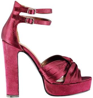 Glamorous Satin Knot Sandals
