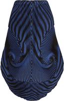 Issey Miyake Optical 1 pleated-swirl skirt