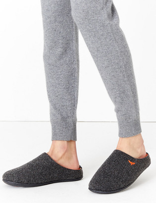 Marks and Spencer Felt Mule Slippers