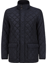 John Lewis Funnel Neck Quilted Jacket, Navy