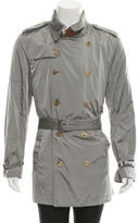 Ralph Lauren Black Label Double-Breasted Trench Coat