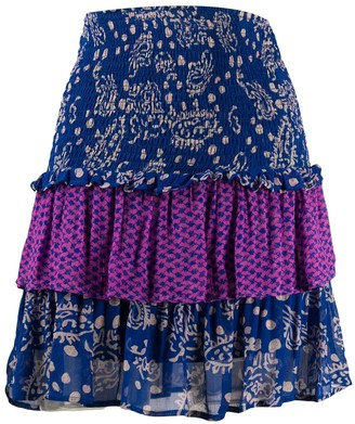 Cecilie Copenhagen Tessa tiered ruffled skirt