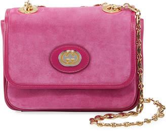 Gucci Marina Mini Suede Shoulder Bag Bag