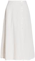 Raquel Allegra A-line Safari Skirt