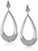 Vince Camuto Pave Frontal Teardrop Earrings