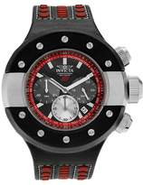 Invicta Men's 19174 S1 Rally Quartz Chronograph Black Dial Strap Watch - Black