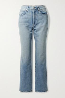 SLVRLAKE London High-rise Straight-leg Jeans - Mid denim