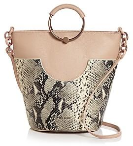 Ted Baker Aliena Snake Print Bucket Bag