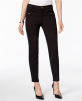 Style&Co. Style & Co Zippered-Pocket Skinny Pants, Only at Macy's
