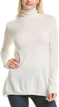 Forte Cashmere Funnel Neck Cashmere Sweater