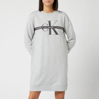 Calvin Klein Jeans Women's Monogram Sweat Dress