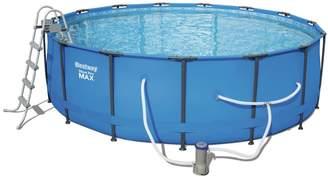 Bestway Steel Pro MAX 15 Feet x 48 Inches Pool Set