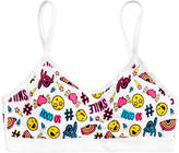 Maidenform Ruched Seamless Cool-Print Crop Bra, Little Girls (2-6X) and Big Girls (7-16)