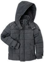 Ben Sherman Boys 4-7) Box Quilted Hooded Coat