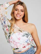Dotti Ingrid Garden One Shoulder Top